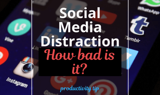 Social Media Distraction: How bad is it?