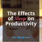 The Effects of Sleep on Productivity