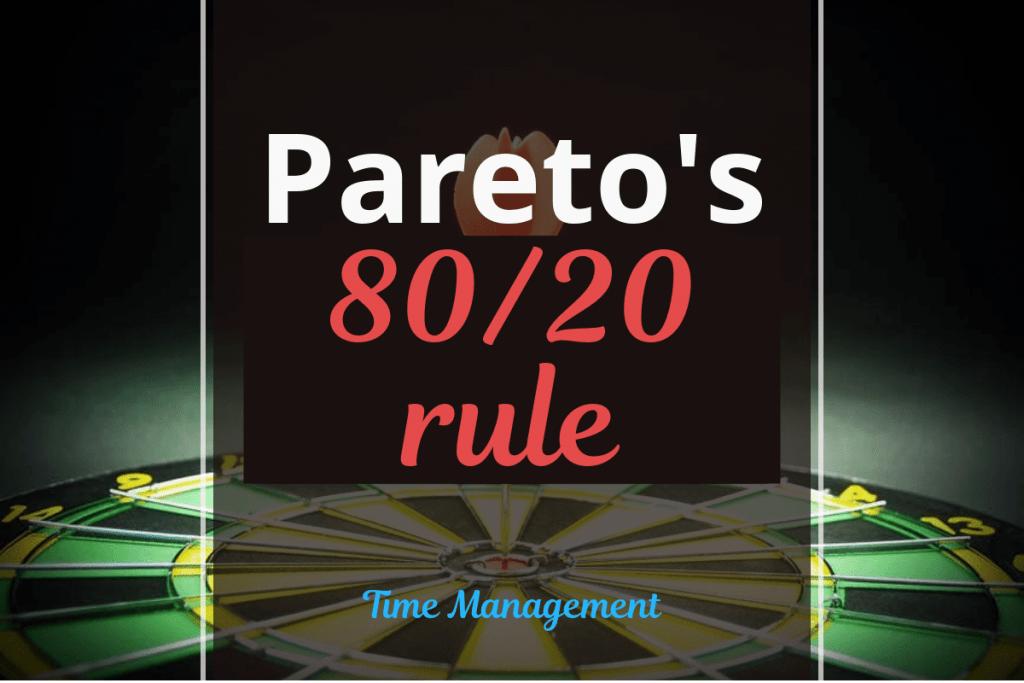 Pareto's 80-20 rule