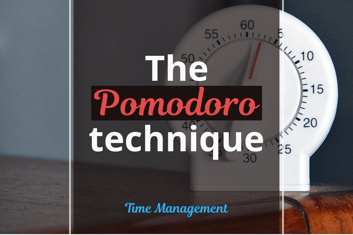 Not Enough Time in the Day? Try the Pomodoro Technique!