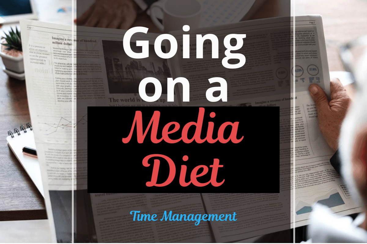 Going on a Media Diet:  Cutting the Cords and Distraction