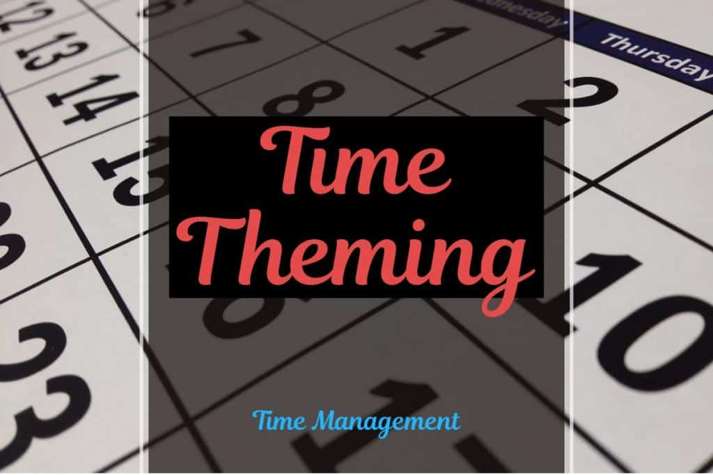 time theming