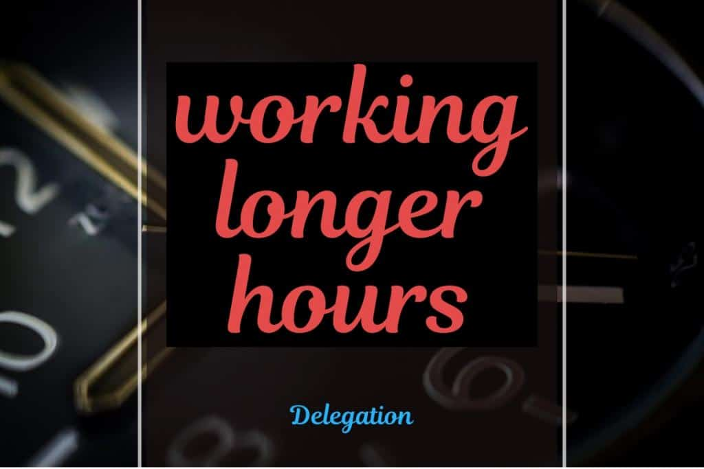 working longer hours