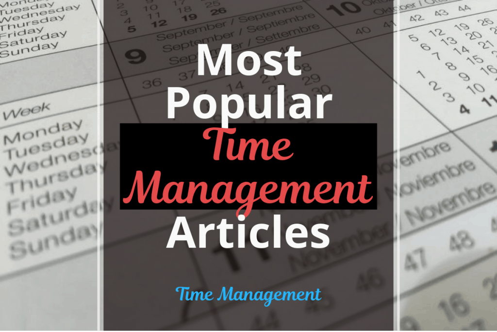 time management articles